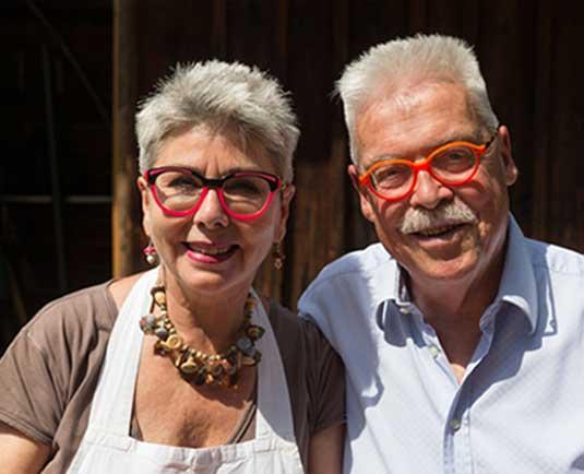 Offizielle Webseite der beliebten TV Köche Martina & Moritz