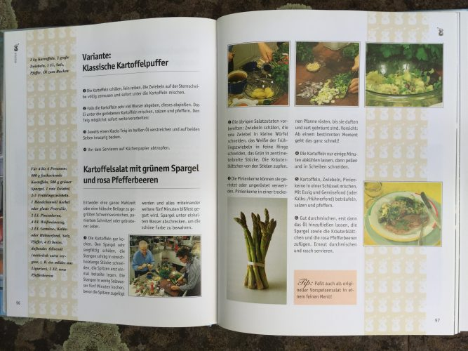 Sommerküche Wdr : Kartoffelsalat mit grünem spargel und rosa pfefferbeeren martina